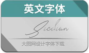 Sicilian(英文字体)