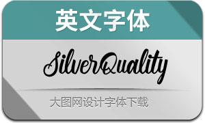 SilverQuality(英文字体)
