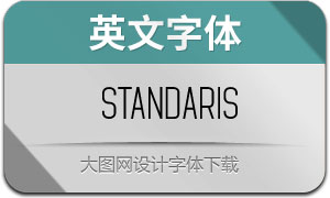Standaris-Regular(英文字體)
