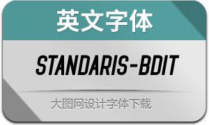 Standaris-BoldItalic(英文字体)