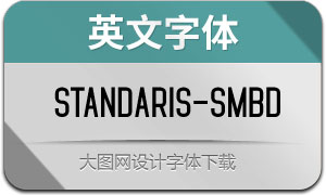 Standaris-Semibold(英文字体)