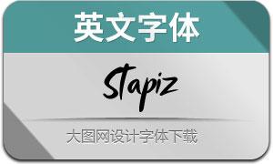 Stapiz(英文字体)