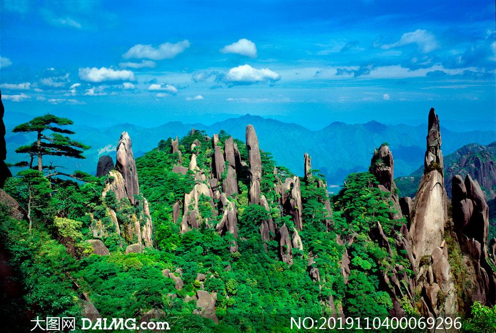 江西三清山石林美景高清摄影图片