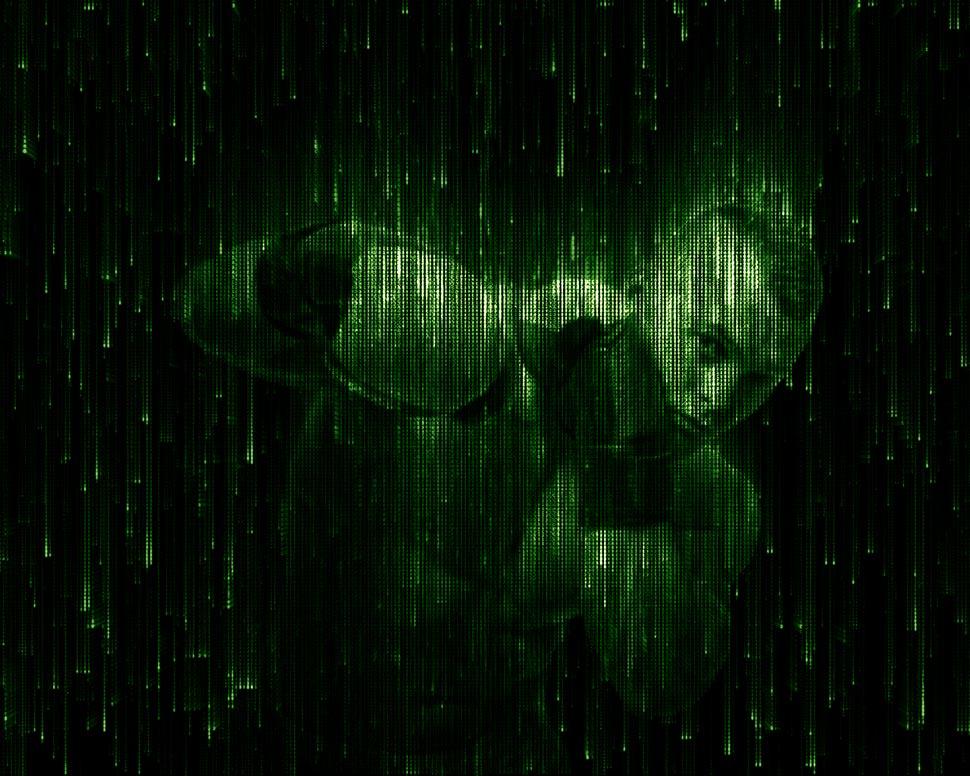 中文版科技矩阵和黑客帝国特效PS动作