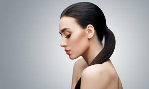 妆容性感美女模特人物摄影高清图片