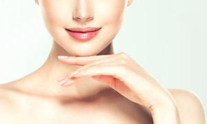 红唇护肤美容主题人物摄影高清图片