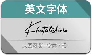 Khatulistiwa(英文字体)