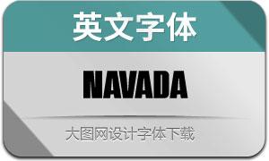 Navada(英文字体)