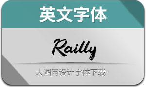 Railly(英文字体)