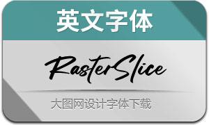RasterSlice(英文字体)