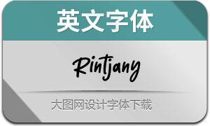 Rintjany(英文字体)