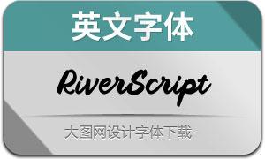RiverScript(英文字体)