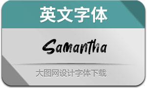 Samantha(英文字体)