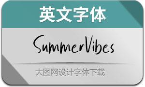 SummerVibes(英文字体)