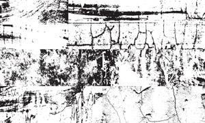 黑白颓废墙壁纹理背景主题矢量素材