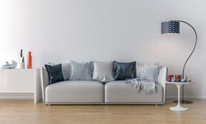 客厅空间家具布置效果摄影高清图片