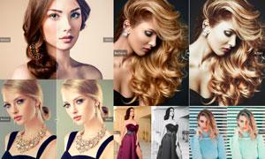 11款人物写真时尚艺术效果LR预设
