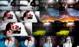 32款逆光照片美化和黑白效果LR预设