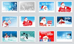 圣诞球圣诞老人等圣诞新年创意素材