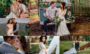 婚礼人像复古艺术效果LR移动端预设