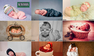30款新生儿宝宝后期调色美化LR预设