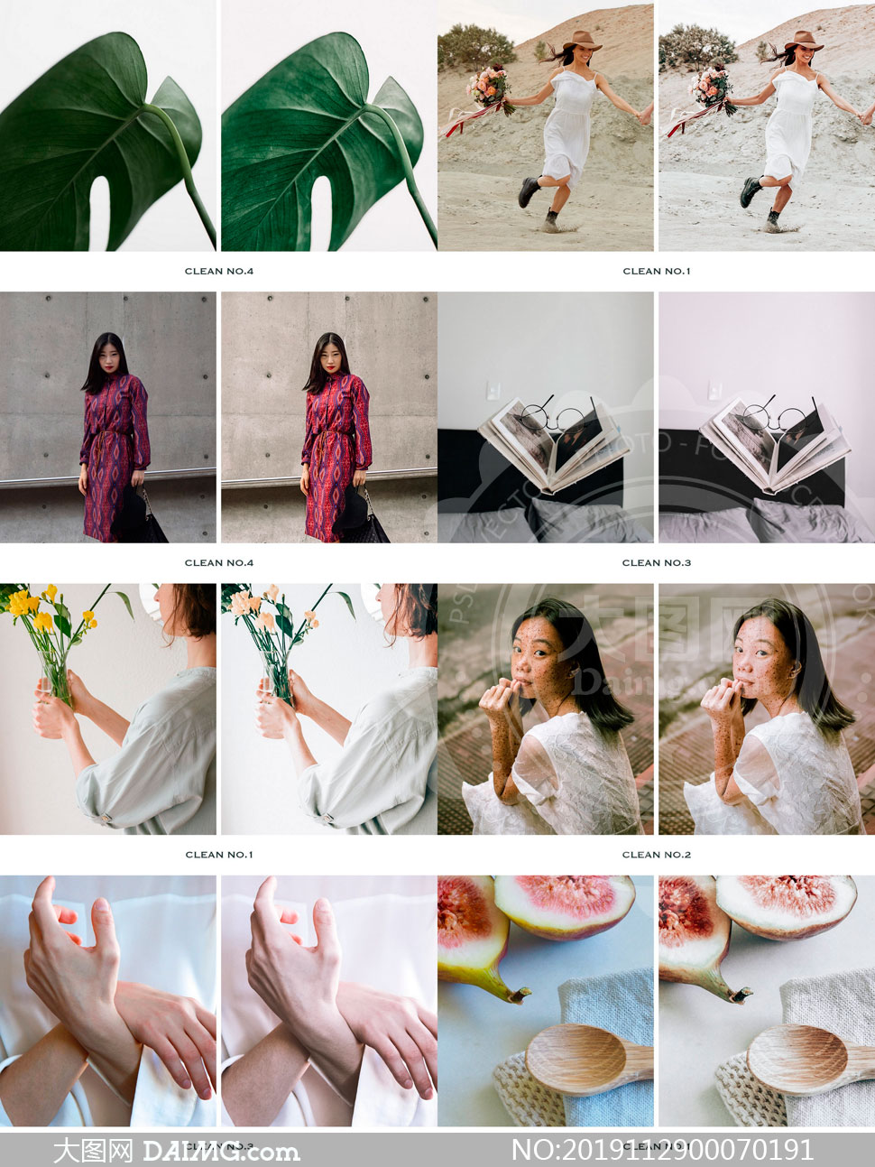 Clean系列数码照片古典艺术效果LR预设