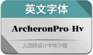 ArcheronPro-Heavy(英文字体)