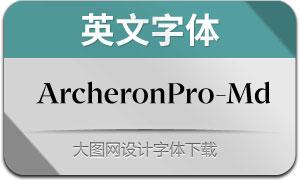 ArcheronPro-Medium(英文字体)