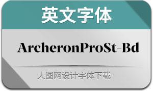 ArcheronProStencil-Bd(英文字体)