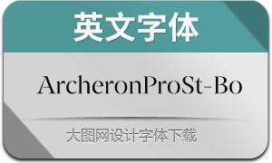 ArcheronProStencil-Bo(英文字体)