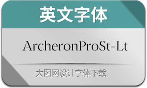 ArcheronProStencil-Light(英文字体)