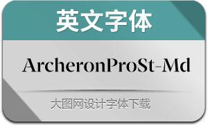 ArcheronProStencil-Md(英文字体)