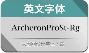ArcheronProStencil-Rg(英文字体)