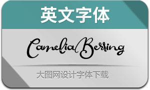 CameliaBerringScript(英文字体)