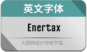 Enertax(英文字体)