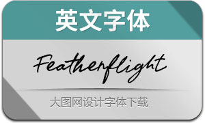 Featherflight(英文字体)