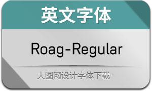 Roag-Regular(英文字体)