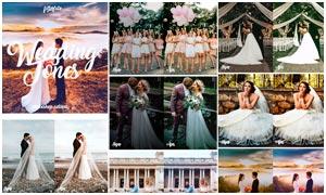 婚礼照片复古暖色艺术效果PS动作