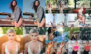 21款婚禮照片和生活照片后期調色LR預設