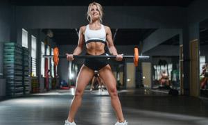 力气大的健身美女人物摄影 澳门线上必赢赌场