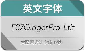 F37GingerPro-LightIt(英文字体)
