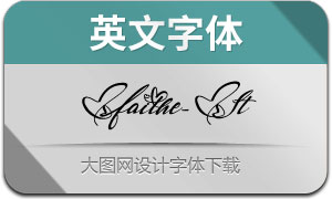 Faithe-Italic(英文字体)