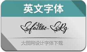 Faithe-Regular(英文字体)