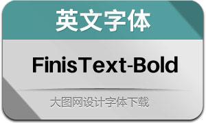 FinisText-Bold(英文字体)