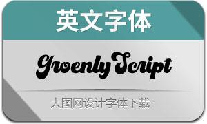 GroenlyScript(英文字体)