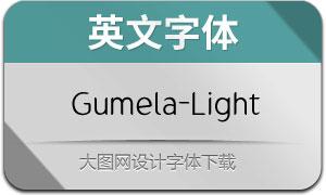 Gumela-Light(英文字体)