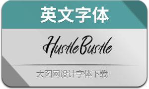 HustleBustle(英文字体)
