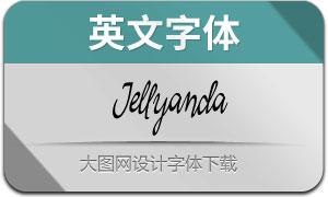 Jellyanda(英文字体)