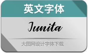 Junita(英文字体)