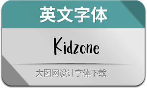 Kidzone(英文字体)